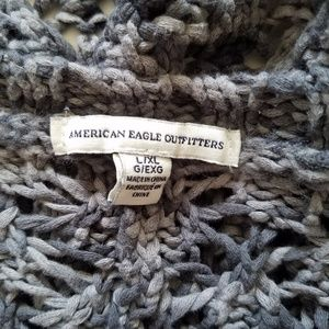 American Eagle Outfitters Sweaters - Women's Gray Cardigan